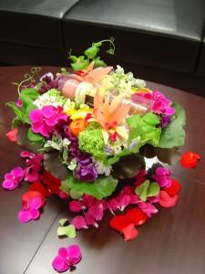 お誕生日おめお花